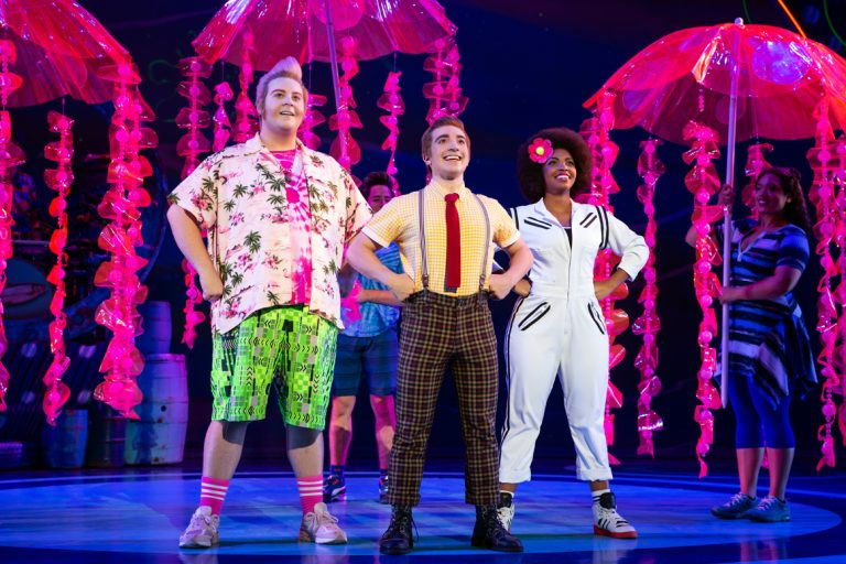 Lorenzo Pugliese Makes a Big Splash in the National Tour of 'The Spongebob Musical'