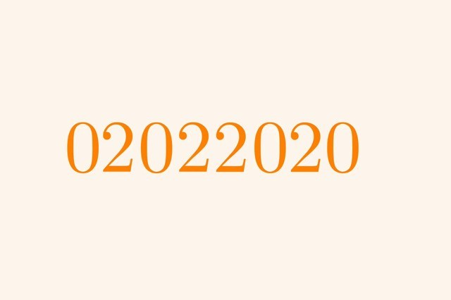 Rare Palindrome Occurs On February 2, 2020 That Hasn't Occurred In Over 900 Years
